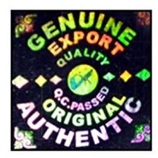Genuine Export Quality Hologram